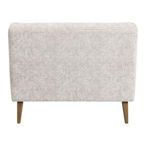 Banquette 2 places en tissu arabesque perle - Joséphine - Visuel n°4