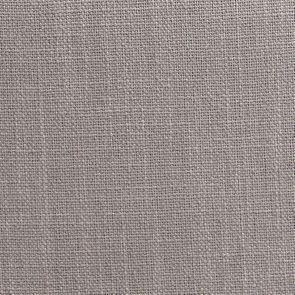 Fauteuil en tissu lin beige et finition gris argenté - Auguste - Visuel n°6