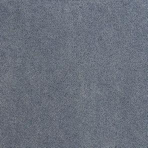 Fauteuil en tissu velours bleu gris - Auguste - Visuel n°8