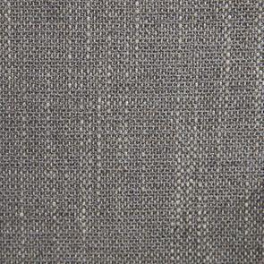 Fauteuil en tissu gris Chambray et finition noir - Auguste - Visuel n°8