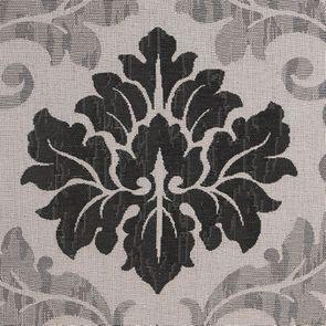 Fauteuil en tissu Arabesque et finition Noir - Auguste - Visuel n°5