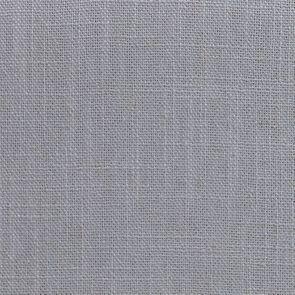 Fauteuil en bois blanc et tissu bleu glacier - Auguste