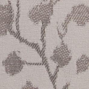Fauteuil en tissu Fleurs Opaline et finition Romance blanc - Auguste