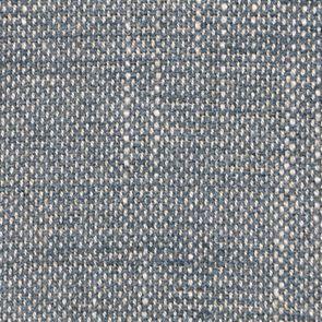 Fauteuil en tissu bleu chambray et frêne massif - Raphaël - Visuel n°7