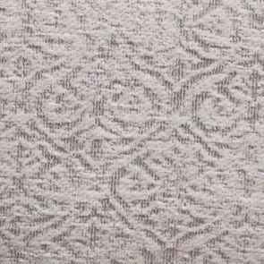 Fauteuil en tissu arabesque perle et finition chêne - Raphaël - Visuel n°7