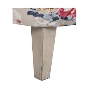 Fauteuil en hévéa et tissu Jardin Anglais - Victor - Visuel n°6