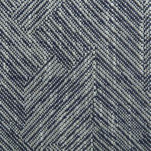 Fauteuil crapaud en tissu mosaïque indigo - Victor - Visuel n°7