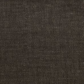 Fauteuil crapaud en hévéa noir et tissu marron glacé - Victor - Visuel n°7