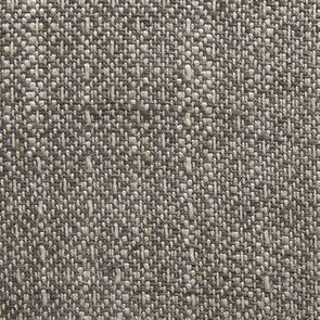 Fauteuil crapaud en hévéa noir et tissu losange gris - Victor - Visuel n°7
