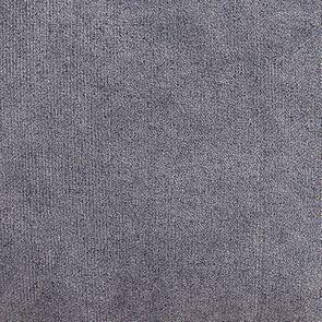 Fauteuil crapaud en velours bleu gris - Victor