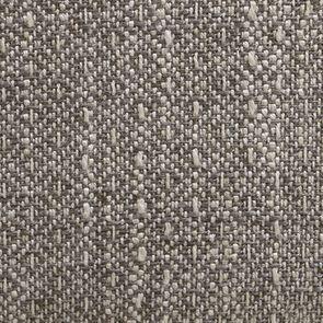 Fauteuil crapaud en hévéa blanc et tissu losange gris - Victor - Visuel n°7
