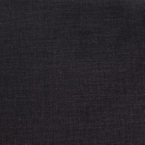 Fauteuil en hévéa noir et tissu Anthracite - Marceau