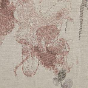 Fauteuil de table en tissu fleurs opaline - Marceau