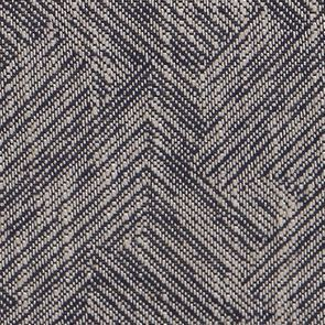 Fauteuil en frêne et tissu Mosaïque indigo - Marceau