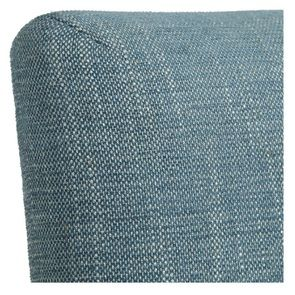Chaise en tissu bleu chambray – Grace - Visuel n°9