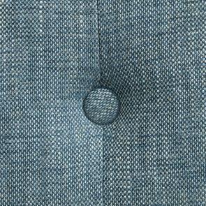 Chaise en tissu bleu chambray – Grace - Visuel n°10