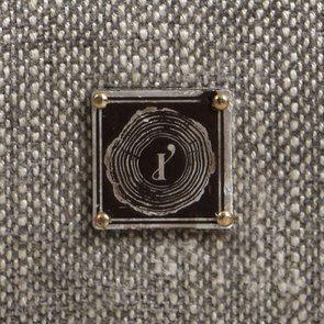 Banc coffre en tissu gris chambray - Gabriel - Visuel n°14