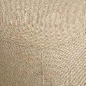 Pouf en tissu ficelle et frêne - Elie - Visuel n°8