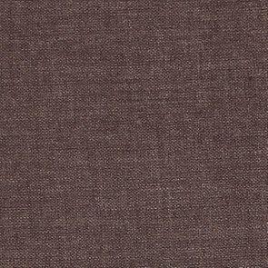 Chaise en hévéa massif et tissu marron glacé - Éléonore - Visuel n°3