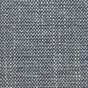 Chaise en tissu bleu chambray et frêne massif - Eléonore - Visuel n°13