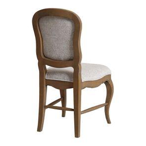 Chaise en frêne massif et tissu arabesque - Éléonore - Visuel n°6