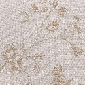 Chaise en hévéa et tissu Paradisier - Éléonore