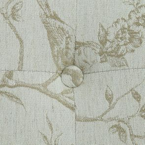 Méridienne droite en tissu paradisier - Eugénie - Visuel n°10