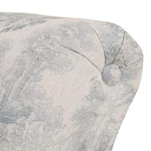 Méridienne droite en tissu toile de Jouy - Eugénie - Visuel n°8
