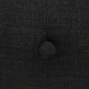 Méridienne gauche en tissu anthracite - Eugénie - Visuel n°10