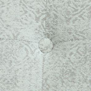 Méridienne gauche en tissu arabesque perle - Eugénie - Visuel n°31