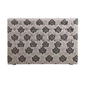 Tête de lit capitonnée 180 en hévéa et tissu Arabesque - Capucine