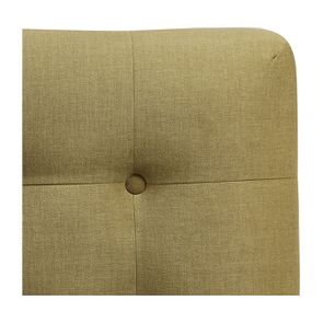 Tête de lit capitonnée 180 en frêne et tissu Vert vif - Capucine
