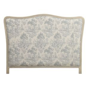 Tête de lit 140/160 cm en tissu toile de Jouy - Joséphine