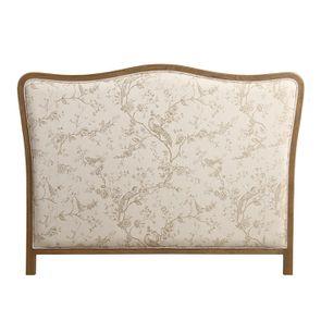 Tête de lit 140/160 cm en tissu paradisier - Joséphine