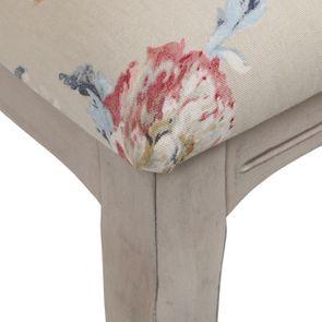 Chaise médaillon en tissu jardin anglais - Hortense - Visuel n°8
