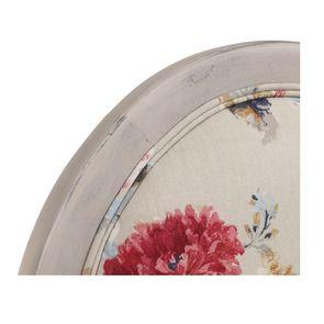 Chaise médaillon en tissu jardin anglais - Hortense - Visuel n°9