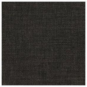 Chaise médaillon en tissu gris anthracite et hévéa - Hortense - Visuel n°3