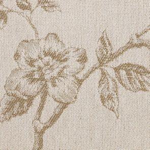 Chaise médaillon en tissu paradisier et frêne massif - Hortense - Visuel n°7