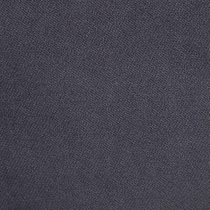Chaise médaillon en tissu velours vert bleuté et bois noir - Hortense - Visuel n°7