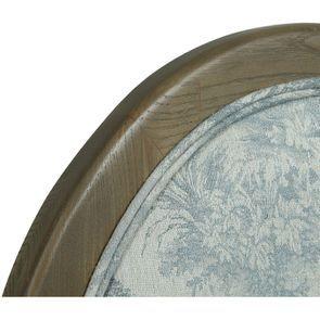 Chaise médaillon en tissu toile de Jouy - Hortense - Visuel n°9