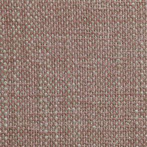 Chaise médaillon en tissu vieux rose et hévéa blanc - Hortense - Visuel n°7