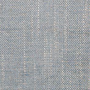 Chaise médaillon en tissu bleu chambray - Hortense - Visuel n°7