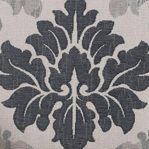 Chaise médaillon en tissu arabesque - Hortense - Visuel n°7