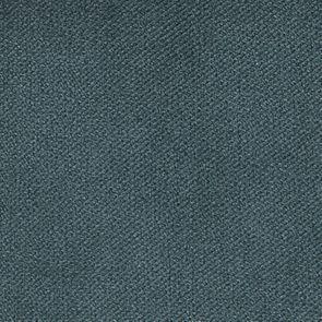Chaise médaillon en velours vert bleuté et hévéa massif blanc - Hortense - Visuel n°7