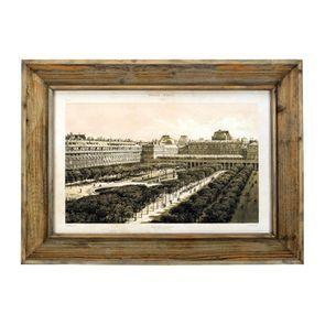 Tableau imprimé Palais Royal en bois