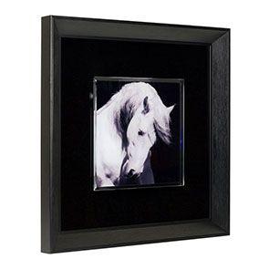 Tableau mural motif cheval en verre - Visuel n°1