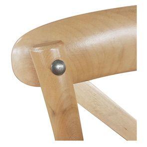 Chaise bistrot en bouleau massif - Visuel n°9