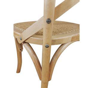 Chaise bistrot en bouleau massif - Visuel n°14