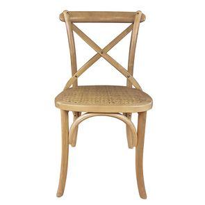 Chaise bistrot en bouleau massif
