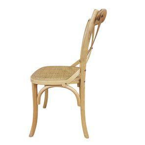 Chaise bistrot en bouleau massif - Visuel n°7